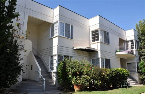 santa monica appartments california art deco streamline moderne buildings