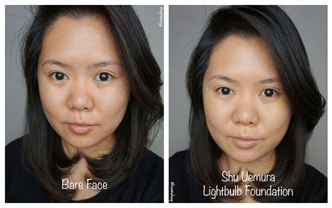 Petal Skin Foundation 754 shu uemura lightbulb foundation review kirei makeup