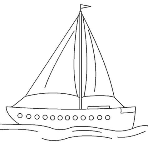 barco de bela dibujo imagen zone gt dibujos para colorear gt transportes barcos