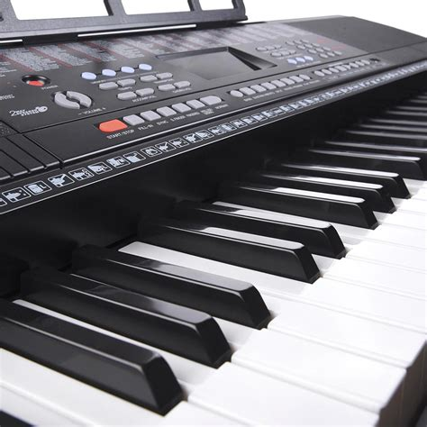 Keyboard Piano Techno T9880i 61 key electronic keyboard piano organ lcd display w