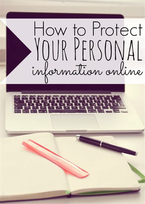 how to a personal protection how to protect your personal information sense of cents