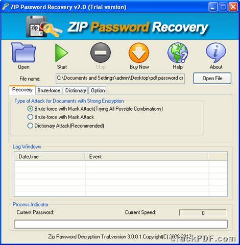 windows password reset gui a smart application to recover zip password to access zip
