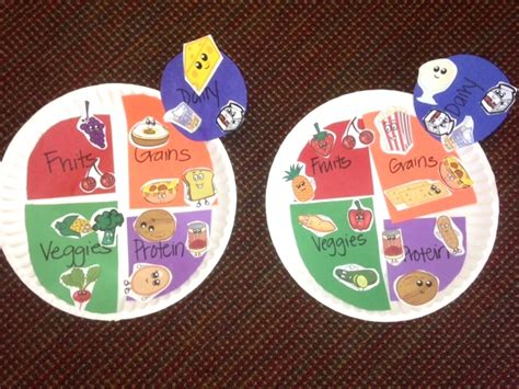 nutrition crafts for preschool crafts about healthy food