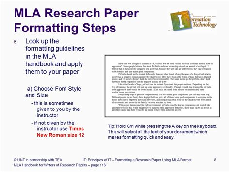 Steps In A Research Paper - paper formatting guidelines guidelines for formatting