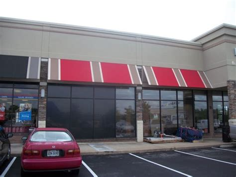 Canopy Shopping by Retail Fabric Awnings Retail Store And Shopping Center