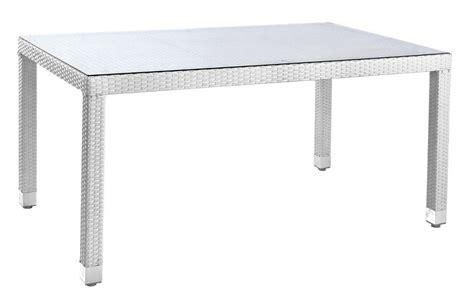 tavolo rattan bianco tavolo bianco in polyrattan etnico outlet mobili etnici
