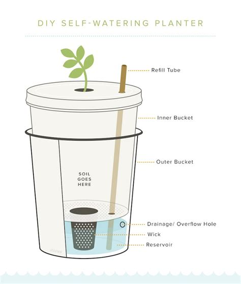 Make Your Own Self Watering Planter by 3 Tips For Do It Yourself Home Gardeners Global Garden