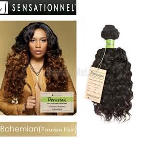 bobs with bohemian peruvian hair sensationnel bare natural 100 virgin remi bundle hair