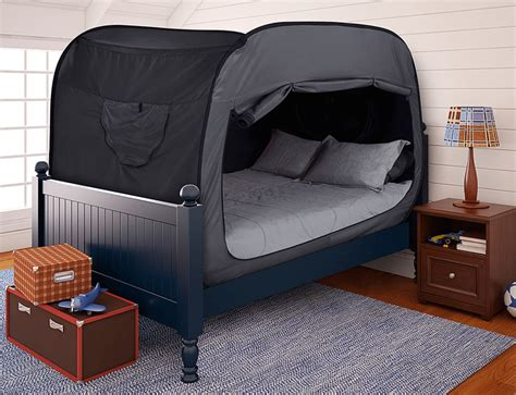 full size bed tent this bed tent is a genius way to get a better night s sleep