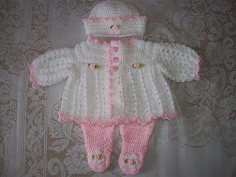 crochet pattern baby leggings crochet baby girl sweater set layette and leggings perfect