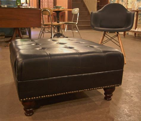 Large Ottoman Table Large Leather Ottoman Coffee Table Coffee Table Design Ideas