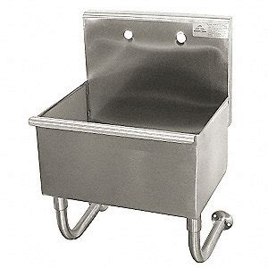 wall hung utility sink advance tabco wall mount utility sink 1 bowl stainless