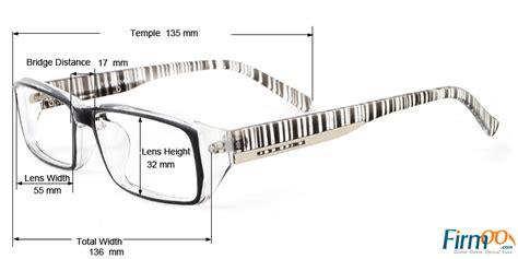 measuring eye glasses eyeglasses