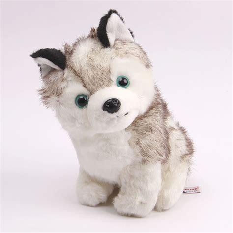 stuffed husky plush stuffed husky doll for birthday