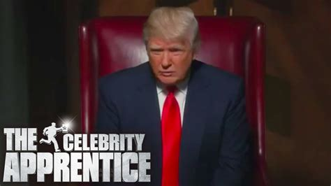 what was celebrity apprentice about donald trump fires three celebrities at once the