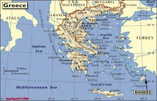 Rhodes Greece Map by Maps Of Rhodes