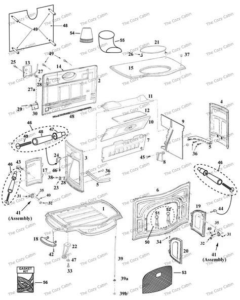 Vermont Castings Fireplace Parts by Defiant I Ia Iai 001 The Cozy Cabin Stove