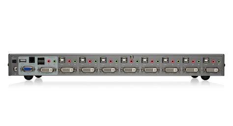 Vga Switch Gain Tech 4 Port Gt 15 4 Diskon iogear gcs1108 8 port dvi kvm