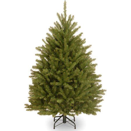 national tree co dunhill fir 7 5 hinged green artificial national tree unlit 4 1 2 dunhill fir hinged artificial