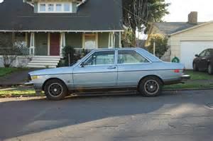 parked cars 1978 audi fox