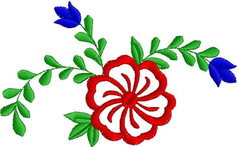 embroidery design tube free download flower embroidery design clipart best