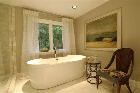 spa master bathrooms little luxury 30 bathrooms that delight with a side table