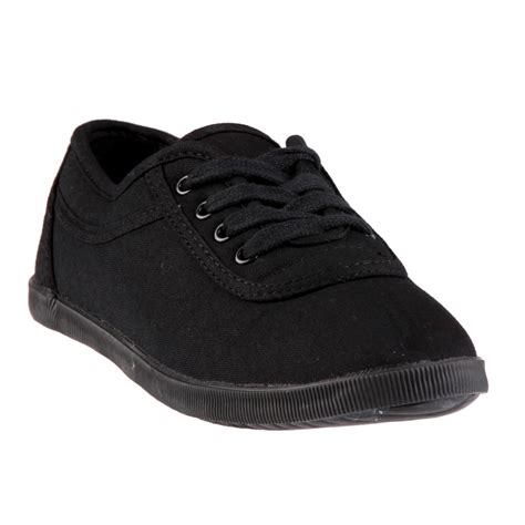 kmart shoes for women s lace up canvas oxford stay comfy in style with kmart