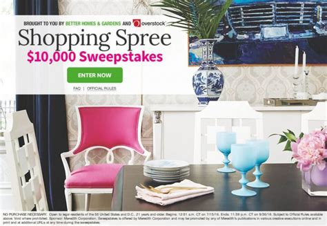 Bhg Com Sweepstakes - can you get through these bhg sweepstakes without entering a single one