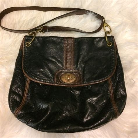 Longstrap Fossil Authentic 79 fossil handbags authentic fossil live vintage cross bag from s closet