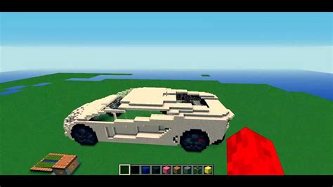 Minecraft Lamborghini Aventador Model Youtube