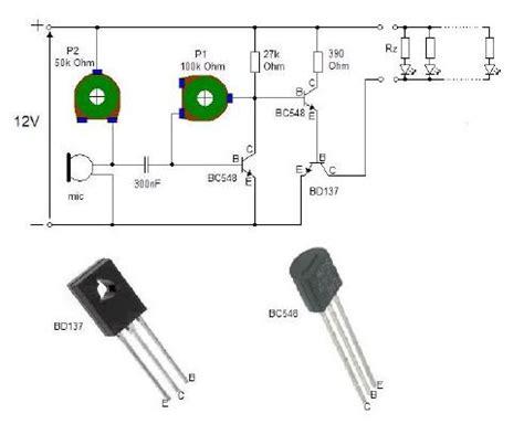 dioda rgb migająca w rytm muzyki połączenie dw 243 ch schemat 243 w