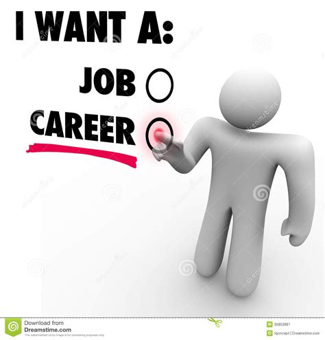 i want a i want a vs career choose work opportunity stock
