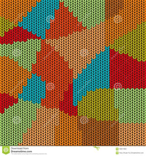 colorful stitches colorful mosaic cross stitch pattern background stock