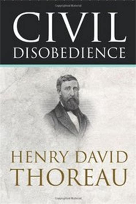 civil disobedience henry david thoreau paperback