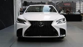 Lexus Ls500 2018 Lexus Ls 500 F Sport Is A More Aggressive Luxury Sedan
