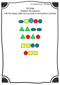 pattern activities for foundation stage collections of foundation stage maths worksheets easy