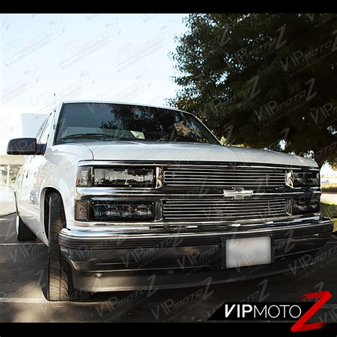 1998 gmc chevy c k 1500 2500 3500 truck tahoe suburban yukon service manual repair set factory 1994 1998 chevy c k 1500 2500 3500 smoke headlight bumper signal amber ls set ebay