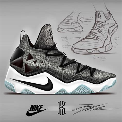 Kyrie 4 Sketches by Kyrie 3 Concept Nike Sneakers Sketches