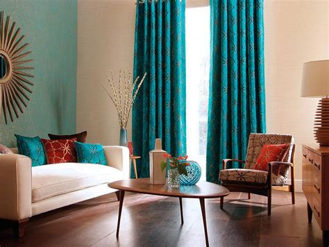 teal curtains for living room cool teal home decor for and summer