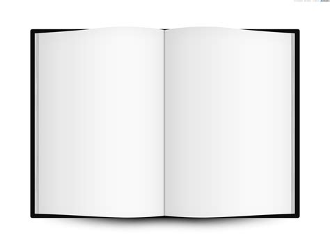 Book Template blank open book template psdgraphics