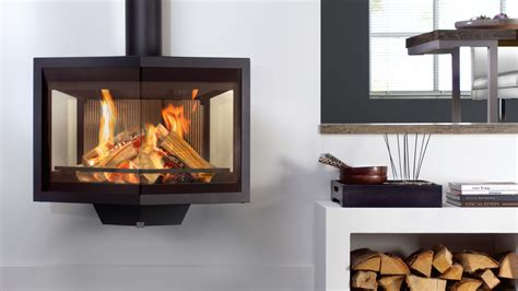 Wall Mounted Wood Burning Fireplace by Wanders Black Wall Mounted Wood Burning Stove