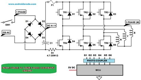 3 phase converter wiring diagram 3 phase electrical wiring