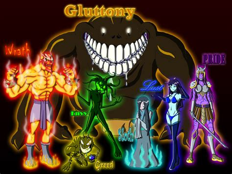 the 7 deadly sins seven deadly sins 2017 by moheart7 on deviantart