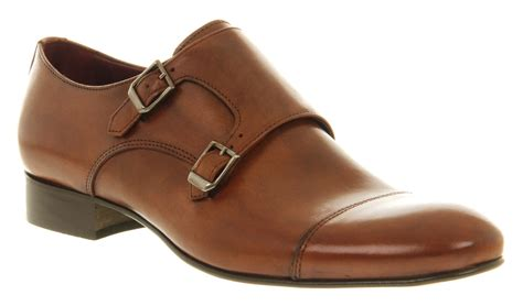 mens poste monk shoes leather formal shoes ebay