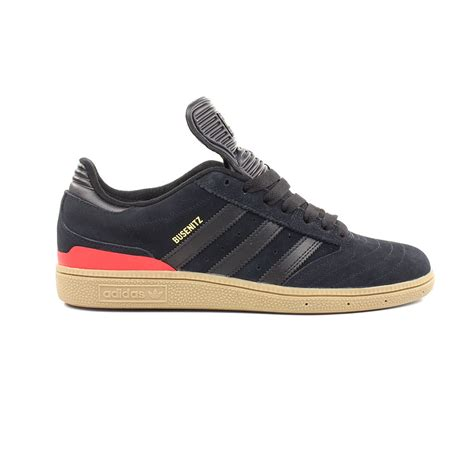 adidas shoes busenitz black black scarlet