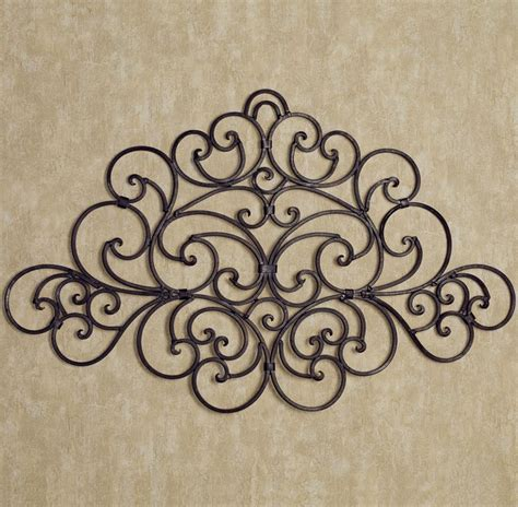 wrought iron decorations home 20 best collection of wrought iron wall