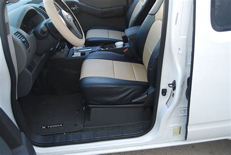 nissan xterra seat covers nissan xterra 2012 2014 s leather custom fit seat cover ebay