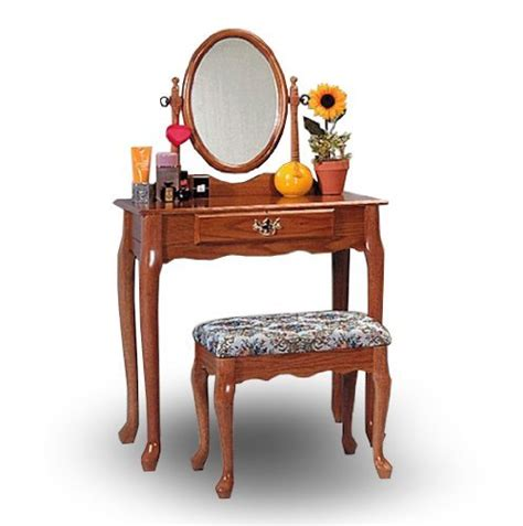 vanity and bench sets oak wood vanity with table bench set discount niederros