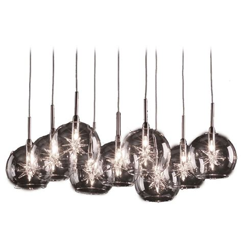 Low Voltage Pendant Lights Modern Low Voltage Multi Light Pendant Light With Clear Glass And 9 Lights E20106 24
