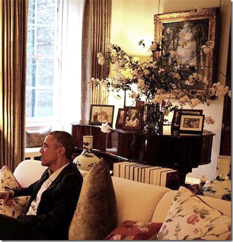 Inside Kate And William S Apartment 1a Kensington Palace | peonies and orange blossoms inside prince william and